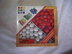 Tik Tac Ku Add On For ColorKu Games - Red and White Marbles