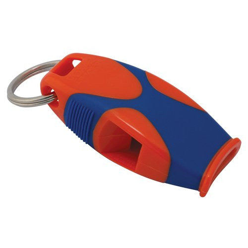 Fox 40 Sharx Whistle with Lanyard (Color: Red/Blue)