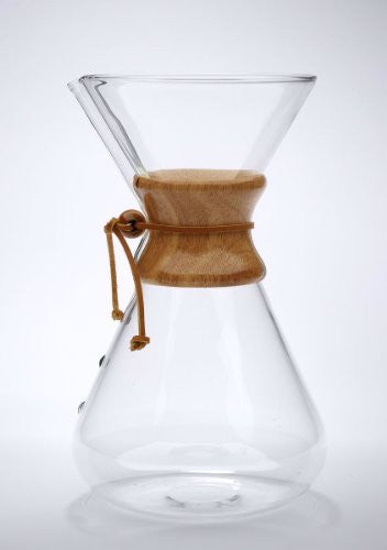Chemex Handblown Glass 13 cup Coffeemaker