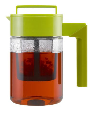 Tea Maker with Silicone Handle, Avocado/Olive, 24-Oz.