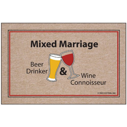Mixed Marriage Indoor/Outdoor Doormat