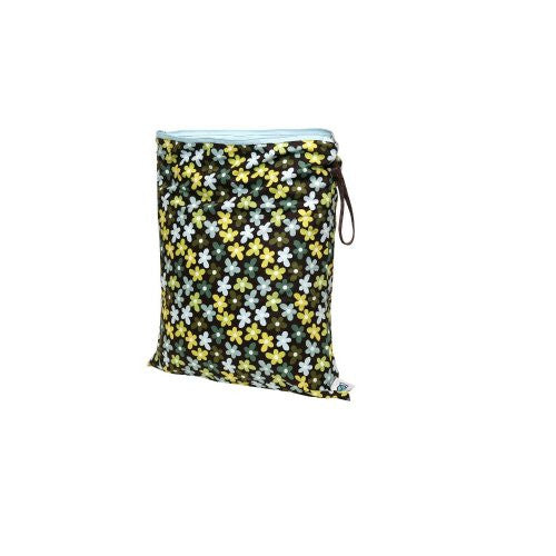 Planet Wise Diaper Wet Bag (Size: Large Color: Daisy Dream)