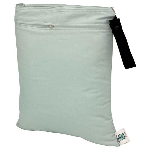 Planet Wise Wet/Dry Diaper Bag (Color: Sage)