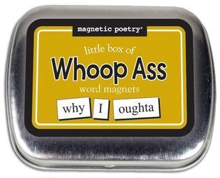 Magnetic Poetry - Little Box of Whoop Ass Words