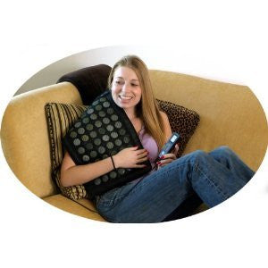 Therasage Healing Pad, Black/grey, Small