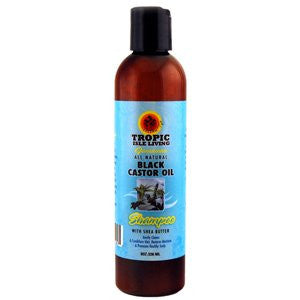 Tropic Isle Jamaican Black Castor Oil Shampoo, 8 Ounce