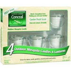 Yankee Candle Company Inc 1184462 Conceal Candle & Lantern Set 4 Piece