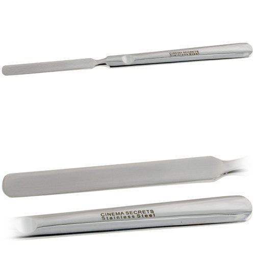 Cinema Secrets Stainless Steel Makeup Spatula (Size: Deluxe)
