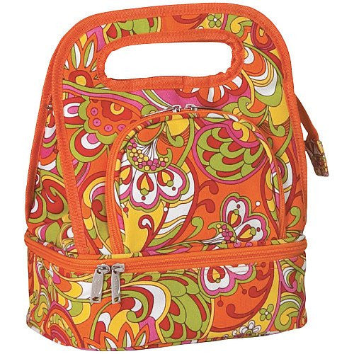 Picnic Plus Savoy Insulated Lunch Tote (Color: Gerry's Jubilee)