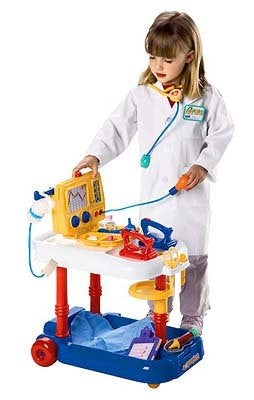 EMERGENCY CART 20PC PLAYSET