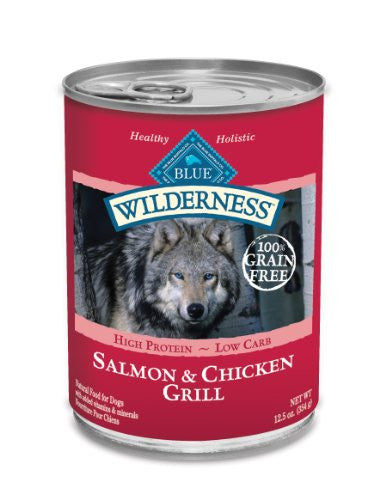 WILDERNESS SALMON DINNER 12X12.5 OZ CS
