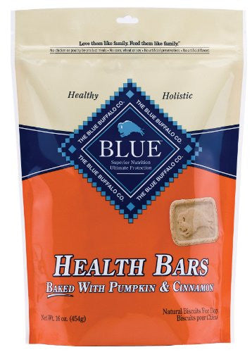 BLUE PUMPKIN & CINNAMON HEALTH BAR 16 OZ BG