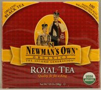 Newman's Own Organics Tea Black Tea At least 95% Organic 100 bags