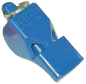 Fox 40 Classic Safety Whistle (Color: Blue)