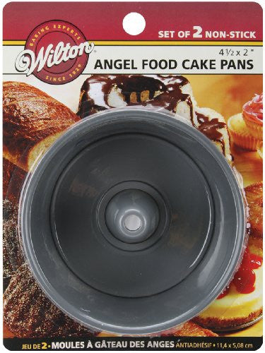 "Mini Angel Food Pans 2/Pkg - Round 4.5""X2"""