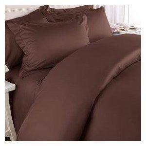 1200 Elegance Linen - Queen (Chocolate)
