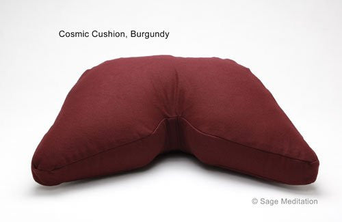 Kapok or Buckwheat Hull Filled Reguler Lift Cosmic Cushion Meditation Cushion Yoga Pillow