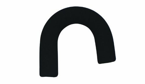 Cane Replacement Offset Hand Grip, Foam, Black