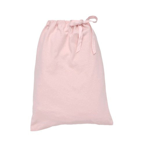Under the Nile Fitted Crib Sheet With Bag (Color: Pink)