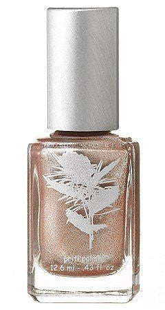 Five Free Nail Enamel - Hardy Water Lily (An opaque golden lamee metallic shimmer)