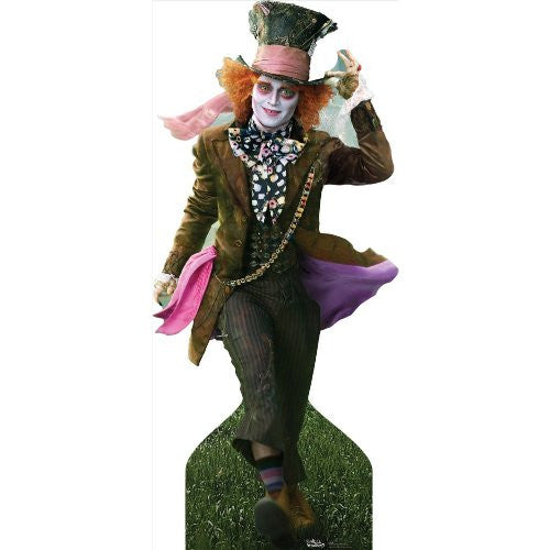 "Mad Hatter - Johnny Depp 78"" x 37"" Stand-ups"