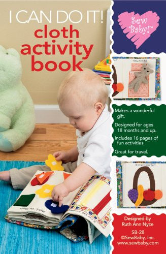SewBaby Patterns - I Can Do It Cloth Activity Book