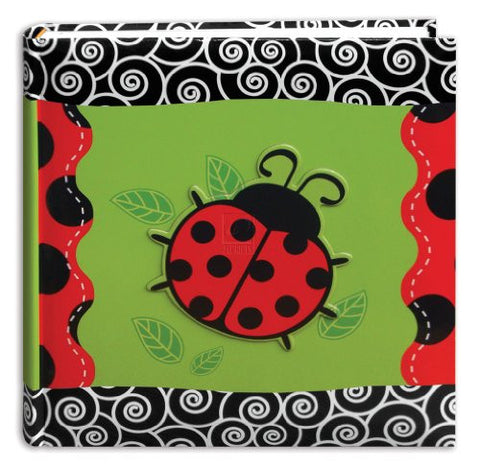 **3-D Applique Designer Bi-Directional Memo Albums, Lady Bug