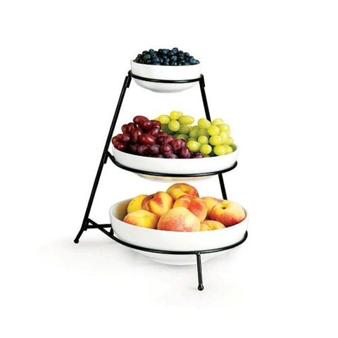 WHT ESSEN 3-TIER ROUND BOWL GB