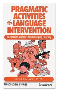 Pragmatic Activities for Language Intervention