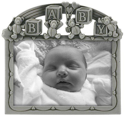 Rainbow Blocks Baby Picture Frame
