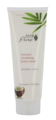 100% Pure Body Cream Coconut -- 8 fl oz