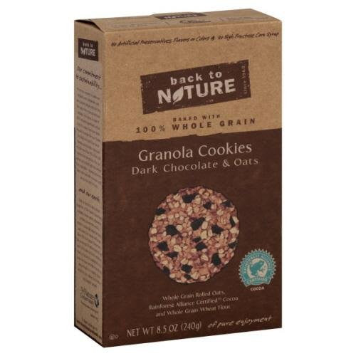 Back to Nature Dark Chocolate N Oats Granola Cake 8.5 OZ