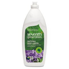 Seventh Generation 22734 Natural Dishwashing Liquid, Lavender Floral & Mint, 25 oz. Bottle