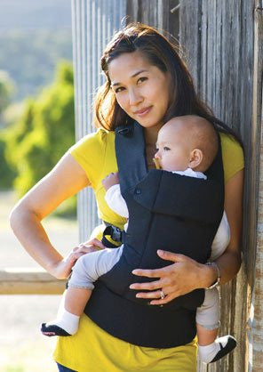 Beco Baby Carrier Gemini (Size: Birth -and UP Color: Metro Black)