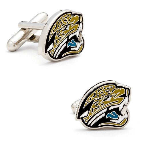 Buffalo Bills Cufflinks (Color: Jacksonville Jaguars)