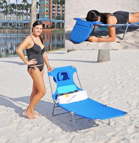 Chaise Lounger / Chaise with Face Hole and Breast Pouch Option