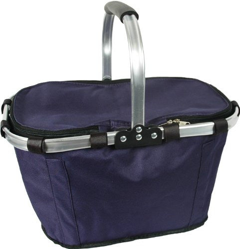 Insulated Market Tote - Navy