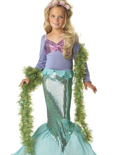 Little Mermaid/Child - Green (M 8-10)