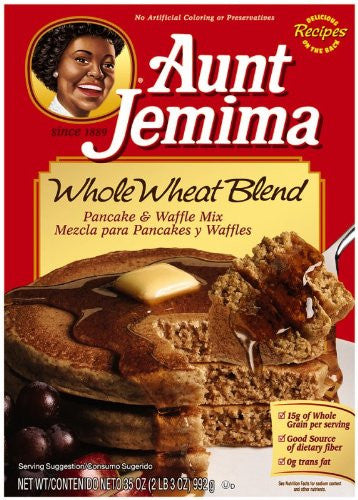 Aunt Jemima Pancake Mix Whole Wheat Blend 35.0 OZ