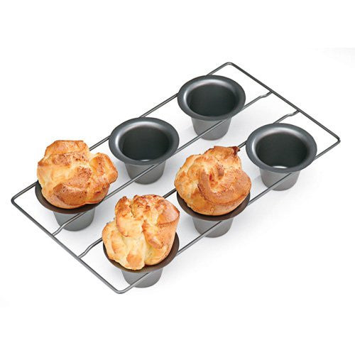 Chicago Metallic 6 Cup Popover Pan