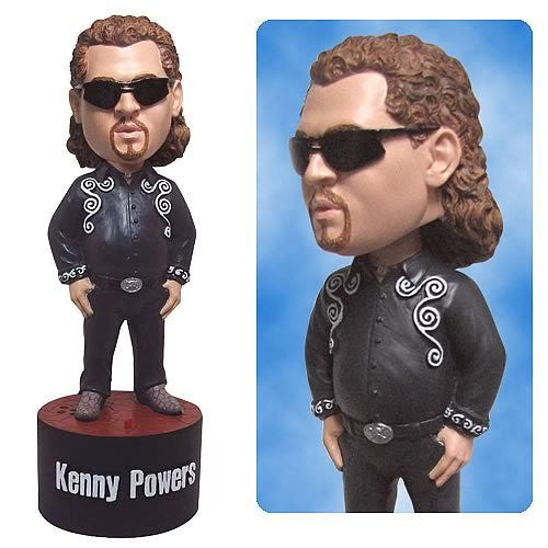 Eastbound & Down Talking Bobble Head Black Outfit (7 Inch)
