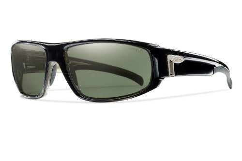 Tenet Black with Polarized Gray Green Lens