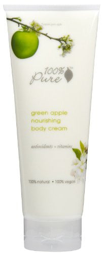 100% Pure Green Apple Nourishing Body Cream