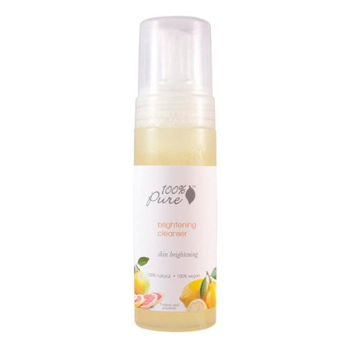 100 Percent Pure Brightening Cleanser 6 oz.