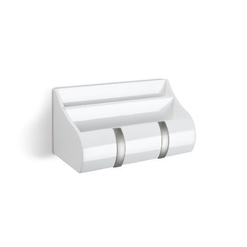 Umbra Cubby Wall Mount Organizer (Color: White)