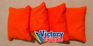 4 Standard Orange Cornhole Bags