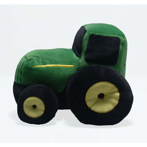 John Deere Plush Tractor Pillow with Sound