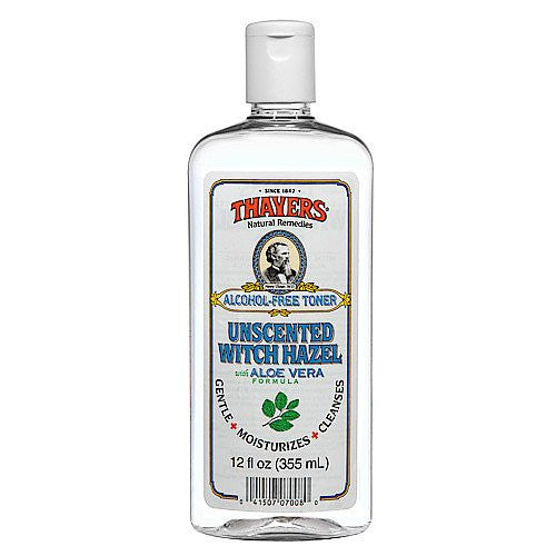 Thayer's: Witch Hazel with Aloe Vera, Unscented Toner 12 oz