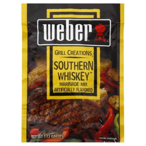 Weber Grill Marinade Southern Whiskey 1.12 OZ