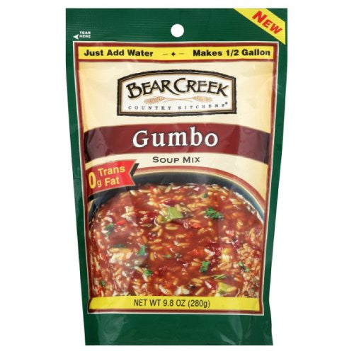 Bear Creek Gumbo Soup, Mix, 8 Serving 9.8 OZ